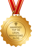 Awarded Top 40 Legal Marketing Blog