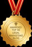 Awarded Top 40 Legal Marketing Blog