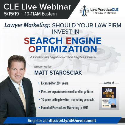Should Your Law Firm Invest In SEO